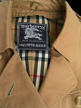 Burberrys Trench Coat Womens Tan Vintage Zip Lining Saks