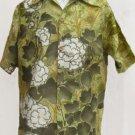 Vintage Hawaiian Shirt Surfline M Short sleeve Greens White mens vintage shirts