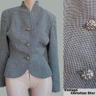 Womens jacket  Christian Dior Jacket Size 2 Black white Vintage