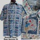 Hawaiian shirt XL Golf theme Reyn Spooner Dietrich Varez