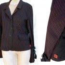 Tripp jacket Daang Goodman Striped XL Black Majenta Stripes NYC