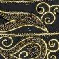 Nolan Miller Black Sz 10 Embellished Beaded Jacket Gold trim