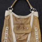 Leather shoulder Bag lBarbara Makowsky Leather Large  Tote Hobo Satchel Large