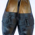 Mens shoes Sandro Moscoloni Vineyard Loafers 10 D Black  leather wing tip tassel shoes Anatomic Gel
