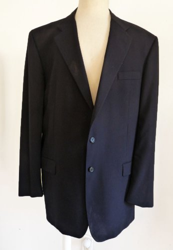 Gieves Hawkes mens Blazer Sportcoat 46 XL Saville Row London 2 button Notched lapel