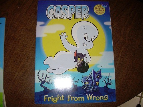 CASPER-FRIGHT FROM WRONG COLORING/ACTIVITY BOOK
