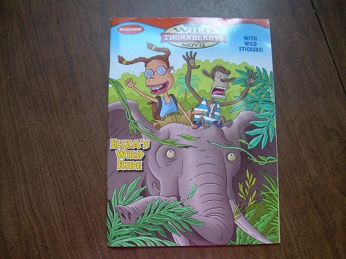 WILD THORNBERRY'S MOVIE COLORING BOOK W/STICKERS NEW
