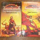 2 paperbacks by TROY DENNING-DARK SUN