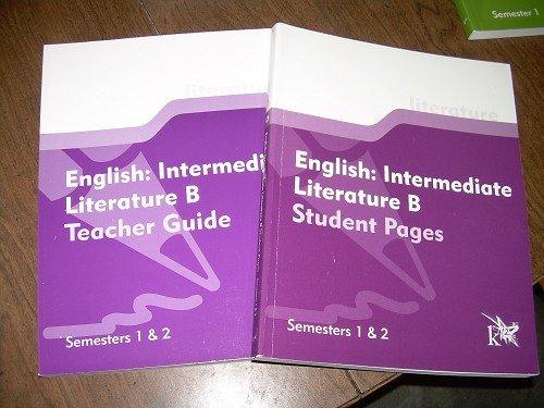 ENGLISH:INTERMEDIATE LITERATURE B-STUDENT &TEACHER K12
