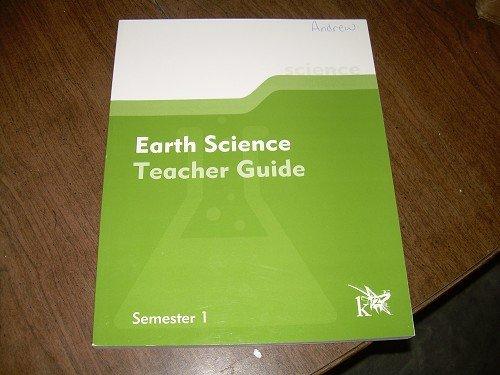 EARTH SCIENCE TEACHER GUIDE-SEMESTER 1 K12