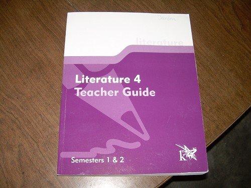 LITERATURE 4 TEACHER GUIDE SEMESTERS 1 &2 K12