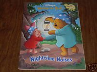 Nightime Noises WINNIE THE POOH COLOR BK W/STICKERS