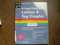 A Legal Guide For Lesbian and Gay Couples by Denis C...