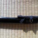 Curve Piano Lacquered Black Saya Scabbard for Japanese Samurai Tanto Sword