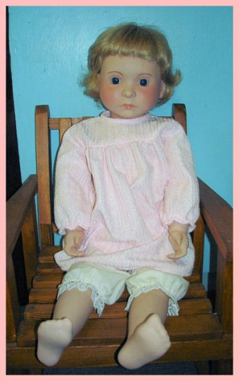 Beautiful Porcelain Doll from England,  Alresford