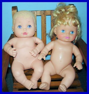 2 Water Babies from Lauer Toys Inc.
