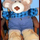 Furkins Male Bear 21inch in Outfit, Nice