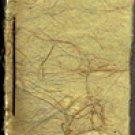 Languageless 1st edition (handmade paper edition of 30)