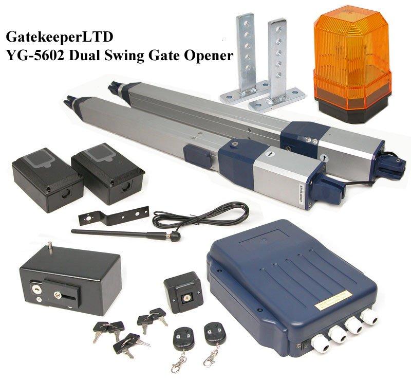 New Gatekeeper YG-5602 Dual Swing Gate Opener