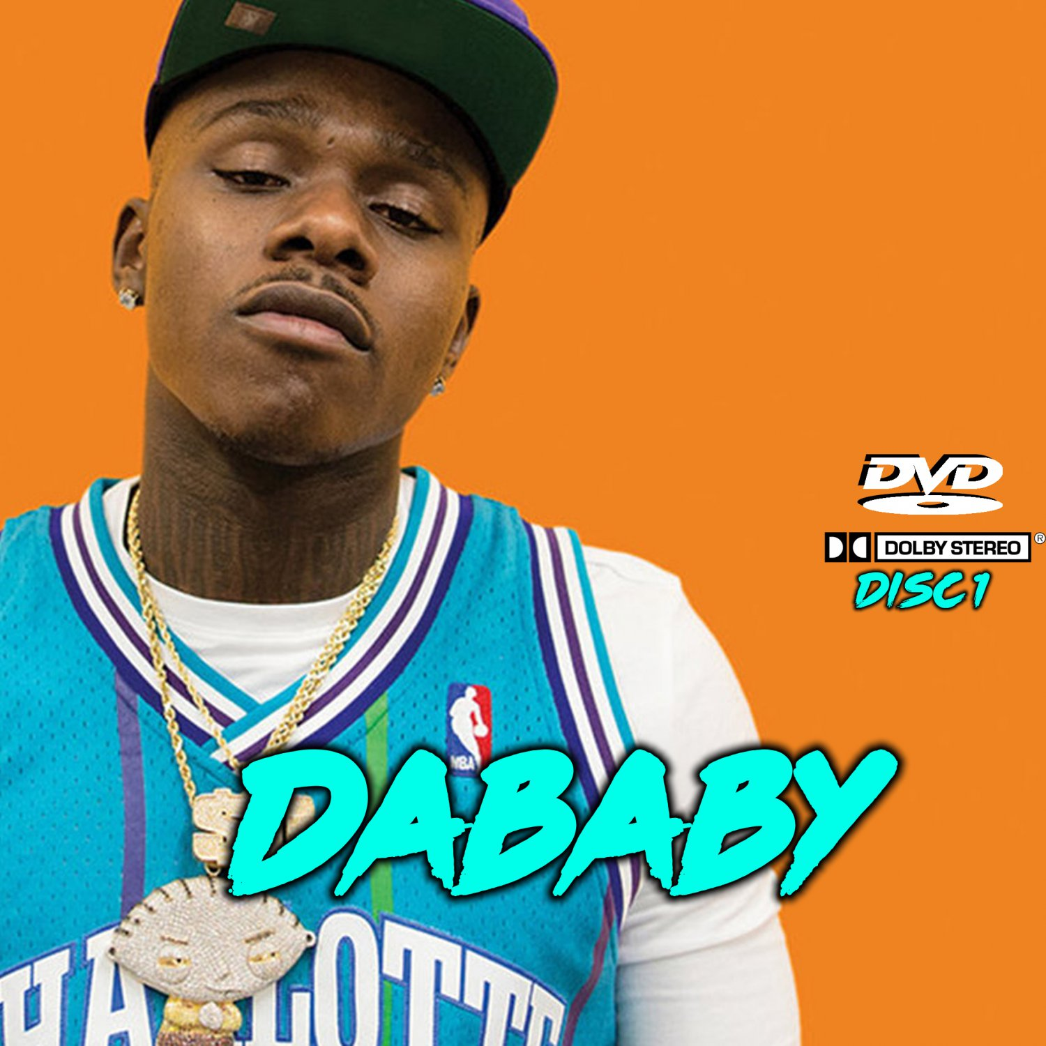 DaBaby Music Videos Collection Da Baby (5 DVD's) 108 Music Videos