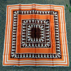 """vintage scarf  25"""" square stylized french sailor"""