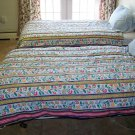 Ikea twin Comforters matching set of two dutch tulips