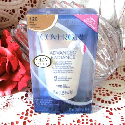 Covergirl Advanced Radiance Moisturizing Makeup #120 DEEP
