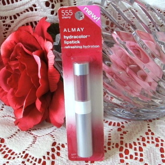 Almay Hydracolor Lipcolor 555 Cherry SPF 15
