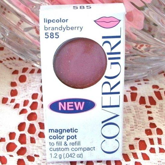 Cover Girl Color Pot Lipcolor Lip Gloss 585 Brandyberry