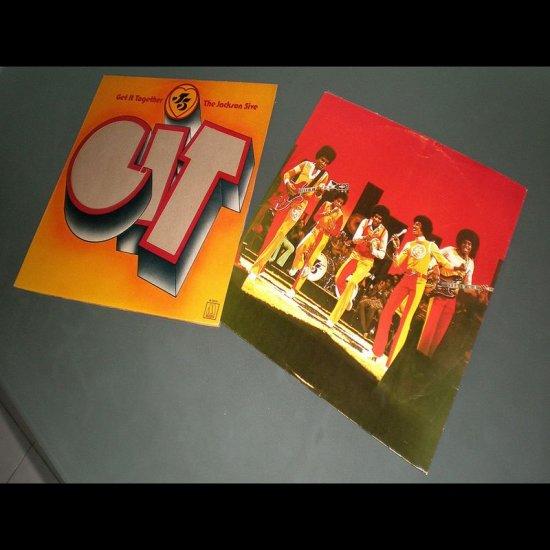 JACKSON FIVE : GET IT TOGETHER ( USA R&B Soul RARE Vinyl Record LP )