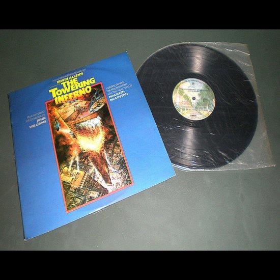 THE TOWERING INFERNO , Original Movie Sound Track ( USA Classical RARE Vinyl Record LP )