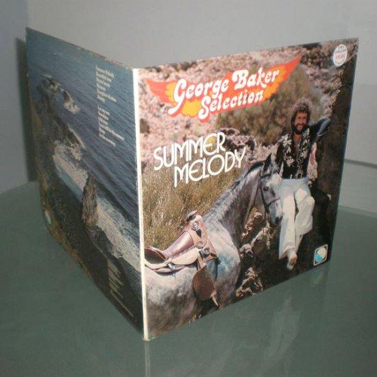 GEORGE BAKER SELECTION , SUMMER MELODY ( Holland Pop Rock Vinyl Record LP )