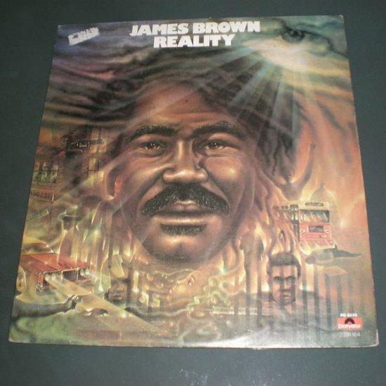 JAMES BROWN : REALITY ( R&B Funk Soul Vinyl Record LP )