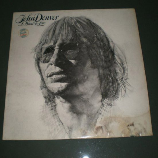 JOHN DENVER : I WANT TO LIVE ( Country Vinyl Record LP )