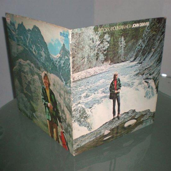 JOHN DENVER : Rocky Mountain High ( US Folk Rock Vinyl Record LP )