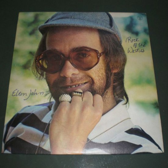 ELTON JOHN : ROCK OF THE WESTIES ( UK Rock Vinyl Record LP )