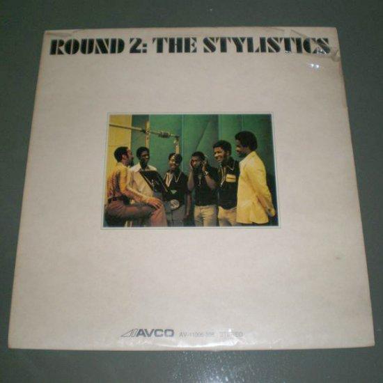 THE STYLISTICS : ROUND 2 ( Funk , Soul Vinyl Record LP )