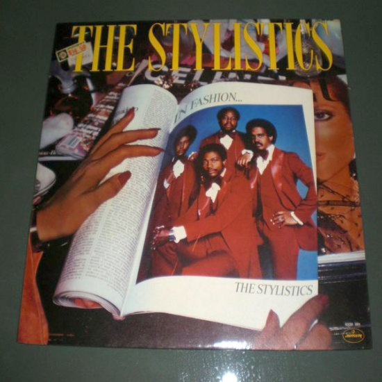 THE STYLISTICS : IN FASHION ( Funk Soul Vinyl Record LP )