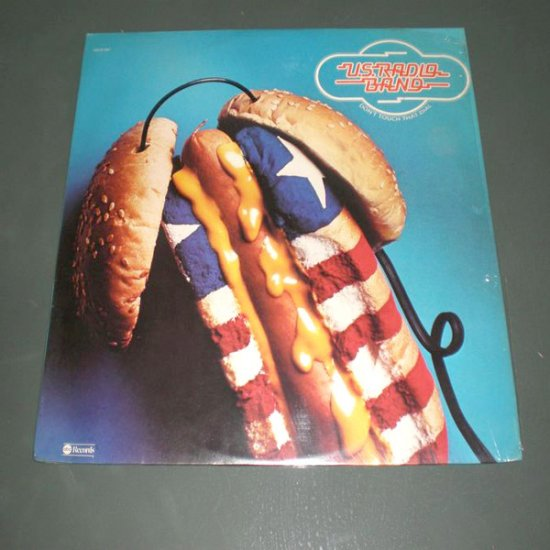 U.S. RADIO BAND : DON'T TOUCH THAT DIAL ( U.S Pop Rock Vinyl Record LP )