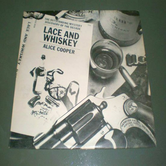 ALICE COOPER : LACE AND WHISKEY ( U.S Rock Vinyl Record LP )
