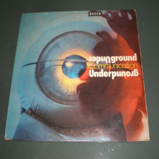 UNDERGROUND COMMUNICATION ( Various Artist Vinyl Record LP )