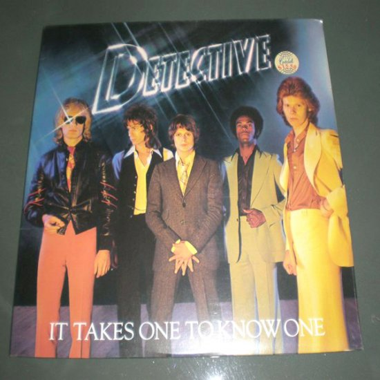 DETECTIVE : IT TAKE ONE TO KNOW ONE ( SEALED ) ROCK  Vinyl Record LP