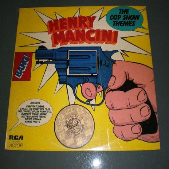 HENRY MANCINI : THE COP SHOW THEMES ( Jazz  Vinyl Record LP )