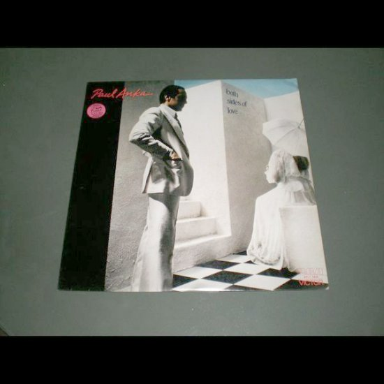 PAUL ANKA : BOTH SIDES OF LOVE ( Pop Rock Vinyl Record LP )