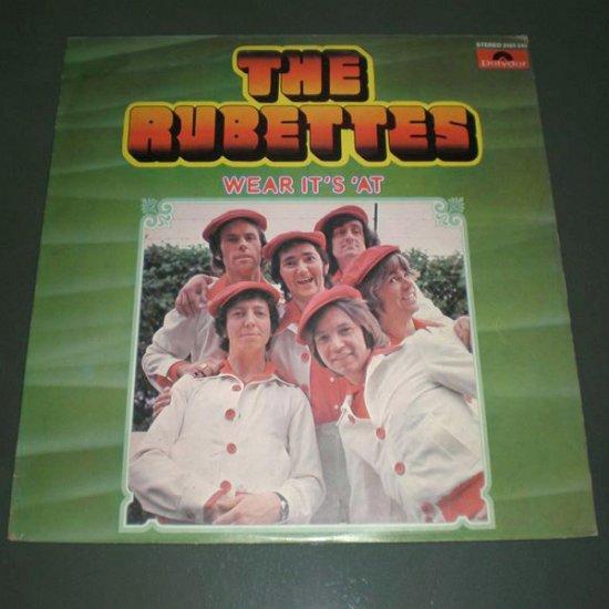 THE RUBETTES : WEAR IT'S 'AT ( Pop Rock Vinyl Record LP )