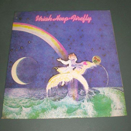 URIAH HEEP : FIREFLY ( Progressive Rock Vinyl Record LP )
