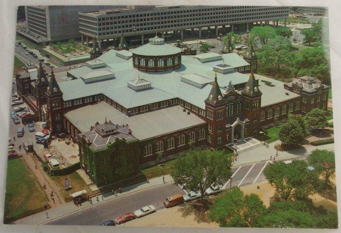 """Smithsonian Industries"" VINTAGE POSTCARD Washington DC"