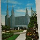 """ Morman Temple "" VINTAGE POSTCARD Washington DC"