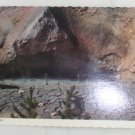 """Mud Volcano"" 60s VINTAGE POSTCARD Yellowstone"