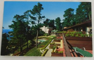 """Highlands Inn"" VINTAGE POSTCARD Carmel California"